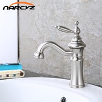 Bathroom Sink Faucets Modern Classic Nickel Wire Drawing The Latest Basin Lamp And Cold Water Faucet XT-406