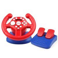 Controller di gioco Joysticks Racing volante per interruttore PS3 PS2 PC Steam Steam USB Vibrazione simulatore di vibrazione Gaming Wheels Video Pieghevole