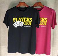 인과 여름 남성 여성 Tshirts 검은 색 T 셔츠 O 넥 짧은 소매 커플 티셔츠 힙합 streetwear 패션 티셔츠 최고 품질