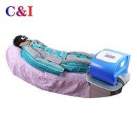 Prensaterapia infravermelho de thermoterapia de celulite de pressão de pressão do corpo do corpo de emagrecimento terno linfático drenagem máquina de terapia de vácuo desintoxicação de sauna cobertor