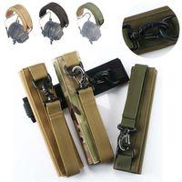 Наружные сумки для наушников головы луча военные вентиляторы тактические универсальные моллюсков