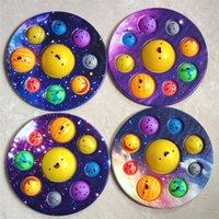 Planeta Fingers Press Bubble Music, descompresión Fidget Toy Pinch Pinch Musics Ocho planetas, Pioneros de control de roedores, Juguetes educativos para niños