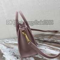 디자이너 어깨 가방 핸드백 지갑 핑크 나노 수하물 정품 가죽 소 가죽 탑 7A 품질 크로스 바디 작은 핸드백 럭셔리 가방