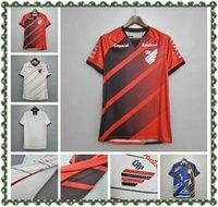 2021 Atletico Paranaense Futbol Forması 20 21 # 19 Marcelo Gömlek Mens # 20 Athletico Rony Eve Uzaktan Futbol Üniforması