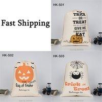 Spider Halloween Bag Party Kürbis Candy Tote Taschen Leinwand Trick oder Behandlung von Spielzeug für Kinderfestival Geschenk