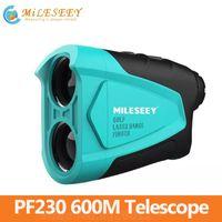 Milesey Mini Láser para exteriores Telescopio telescopio PF230 600m Medidor de velocidad para Golf Smart Home Control