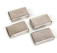 10 * 6,15 * 2,65 cm Neue Tasche Weißblech Zigarettenhersteller Zigarettenrolle Tabak Fallbox Halter Zigarre Rauchraucher Gleis GWF9322