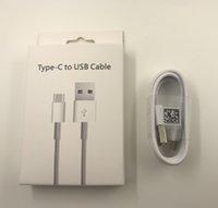Câbles USB de téléphone portable 1M 3FT Chargeur Cordons blancs Ligne de chargeur avec des boîtes de vente au détail pour Samsung Huawei Xiaomi Câble Android