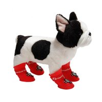 Dog Apparel Pet Shoes Waterproof Boots PU Antiskid Rainy Days Supplies For Dogs Cats Puppy Kitten Chihuahua Teddy Socks