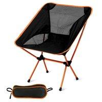 Lightweight Compact Dobrável Camping Backpack Cadeiras Portáteis Breathablem Confortável Perfeito para Ao Ar Livre Caminhada Piquenique Acessórios de Pesca