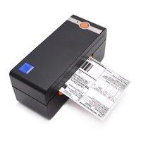 Label Thermal Printer Bluetooth 4 Inch Destop Barcode Sticker Waybill Wireless Express Printing Fast Machine Printers