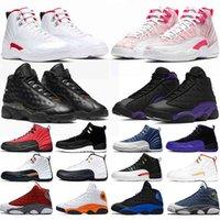 Basketbol Ayakkabıları 12 S 13 S Büküm Dondurma Koyu Concord Mahkemesi Mor Kırmızı Flint Denizyazı Mens Bayan Eğitmenler Açık Sneakers Spor