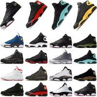 Jumpman 13 Hombres 13s Zapatos de baloncesto Baloncesto Reverse Cred Court Purple Hyper Flint Lucky Green Starfish Gold Glitter Mujer Sneakers 36-47