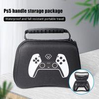 Free 1 Pack Silicone Case Cover Skin For Ps5 Dualsense Controller Bolsa De Almacenamiento Con Asa Para PS51