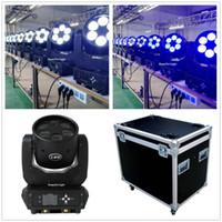 Effetti (12pcs / lot + Roadcase) LED DJ luci mobile testa fascio di testa 6x25w Stadio professionale zoom