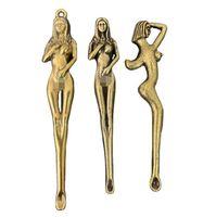 Brass Color Beauty Metal Earpick Dab Dabber Smoking Accessories Tools 4 Types Ear Pick Spoon Shovel Wax Scoop Hookah Shisha Pipe