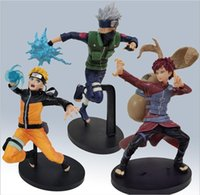 Action Spielzeugfiguren 19cm 3 Stil Naruto-Figur Uzumaki Naruto, Gaara Kakashi, Anime Figur, Tasche, Ornament
