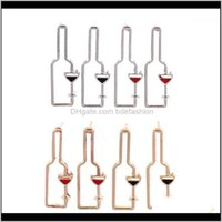 Stud Jewelryfashion Wine Bottle Hollow Geometric Party Personality Statement Earrings Simple Jewelry1 Drop Delivery 2021 Uydco