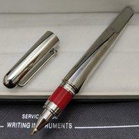 2021 stylo de luxe de haute qualité en acier inoxydable en acier inoxydable doux bille-stylos classique stylos de marques stylos écoliers