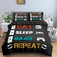 Bedding Sets Video Game Controller Duvet Cover Set Full Covers 1 And 1 2 Pillow Shams Without Comforter