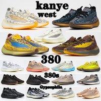 kanye west x yeezy boost 380 shoes Orijinaller 380s Ayakkabıları Alien Mavi Taş Tuz Covellite Adam Mans Moda Yekoraite RF Glow Biber Yulaf Lmnte Mist Batı 380s Kadın Bayan Sneakers