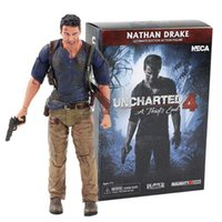 17cm Neca Uncharted 4 Ein Dieb's End Nathan Drake Ultimate Edition PVC Action Figure Sammeln Modell Spielzeug