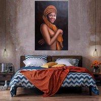 Donne nude Pittura ad olio su tela Home Decor Handpainted / HD-Print Wall Art Picture Personalizzazione è accettabile 21042911