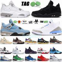 Más nuevos 3 zapatos de baloncesto para hombre BAJO UNC RACER BLUE 4 4S TECHO TECHO TECHO BLANCO OREO UNIVERSIDAD NEGRO GATER UNIÓN UNIÓN PARIS DESIERTO MOSS MUSS PARA MUJERES Deportes Deportes Entrenadores 3s