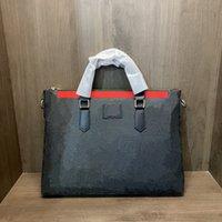 Totes Luxus-Einkaufstasche Designer Taschen Handtaschen Große Herren Aktentasche Medium Handtasche Mode Marke High-Capacity Echtes Leder Andere Stil Größe 38 * 29cm Großhandel