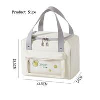 Sac mignon Portable Sac de lunch Riz isolé Pique-nique extérieure Sacs de rangement