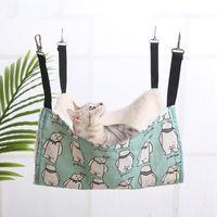Питомники ручки дизайнерский домашний гамак хлопчатобумажная мышь фермы морской свиньи кошка висит кровать для кошек грызунов хомяк