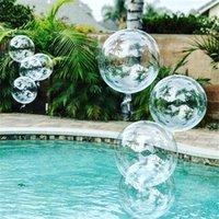 20''24''36 '' Globos transparentes Claro globo helio inflable bobo globos boda cumpleaños baby shower decoracion 712 v2