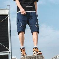 Men Shorts Sweat Hip Hop Streetwear Summer Military Cotton Mens Bermuda M-XXXL 2021 Casual Short Men's