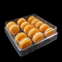 15Holes Transparent Clear Macaron Boxes Blister Packaging Box Display Tray Event Party Supplies Casamento Gift Cases Decor Wrap