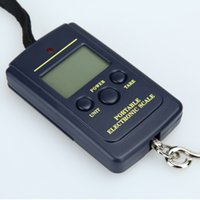 Portable Household 40kg x 10g Mini Digital Scale For Fishing Luggage Travel Weighting Steelyard Electronic Hanging Hook Scales