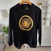 Najnowszy Bluza z kapturem Bluzy Mężczyźni Kobiety Sweter Luźny Fit Z Długim Rękawem Męskie Okrągłe Suzyk Swetry S-XL