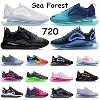 air max 720 scarpe da corsa per uomo Neon triple bianco nero tramonto DESERT GOLD NORTHERN LIGHTS DAY donne sportive sneaker trainer taglia 36-45