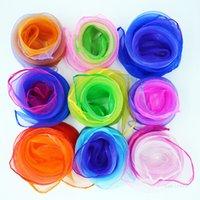 Pequeño pañuelo cuadrado Pantalla de danza de color sólido Show billar nuevo Candy-Coloree A prueba de viento Mujeres Seda SBYF T2I52062