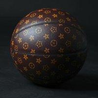 Spalding L. V Leather Basketball 24K Black Mamba Merch Ball Pamiątkowy Edycja PU gra