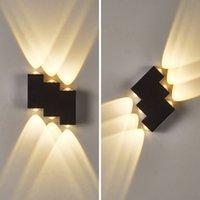 Modern Minimalist Indoor Lighting Outdoor Aisl r Door Courtyard Staircase Porch Waterproof LED Wall Lamp