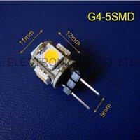Birnen Hohe Qualität DC12V G4 LED Crystal Lights Dekorative Lichtlaternen 12VDC 100pcs / lot