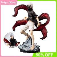 22cm Tokyo Ghoul Anime Figure Deux têtes Awakening Kaneki Ken Action Figure Tokyo Ghoul Touka Kirishima Figurine Modèle Poupée Toys Y0705