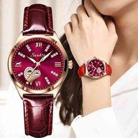Lüks erkek ve kadın saatler tasarımcı marka saatler pour femmes, Tanche, couleur veya rose, vin rouge, avec bote, nouvelle koleksiyonu