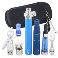 Top 4 in 1 Herb Dry Herb Mini Sarter Kit Penna vaporizzazione a base di erbe 4in1 1100mAh Ugo Vaporizzatore USB Passhrough Ego T Batteria