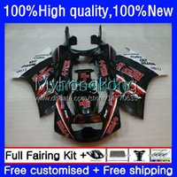 RIZLA red Bodywork For SUZUKI RGV250 SAPC VJ21 250CC RGVT250 88 89 90 91 92 93 Body 31No.33 RGVT-250 RGVT RGV 250 RGV-250 VJ22 1988 1989 1990 1991 1992 1993 Fairing Kit