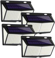 Waterproof Solar Lamp Garden Motion Sensor Outdoor Lighting Led Solars Rechargeable Gardened Light for Path Lawn Street Decoration D3.0