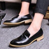 Goodrsson Socialcelebrity Mens Sapatos Tassel Personalidade Moda Mens Sapatos Casuais Compras confortáveis Menshoes sapatos Homens M59C #