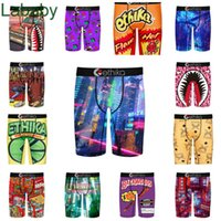 Men swimwear Shorts Designer Ethika Sexy Brand Sports Swimsuits Tight Breathable Polyester Letters Pattern Printed Underwear Boxers