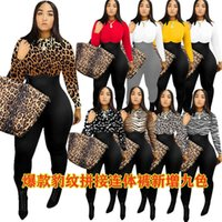 Women Fashion Clothing blouses Autumn And Winter Irregular Print Multicolor Pant Long Sleeve Jumpsuit Listing