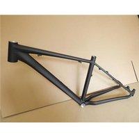 개인 산악 자전거 프레임 티타늄 Mablack 26 * 17 알루미늄 합금 초경량 디스크 브레이크 프레임